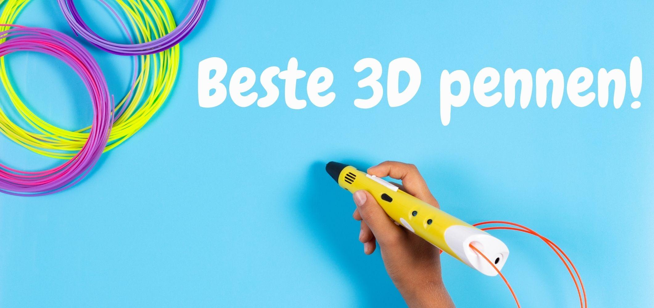 Goedkope 3D pen kopen: beste 3D pennen van 2020